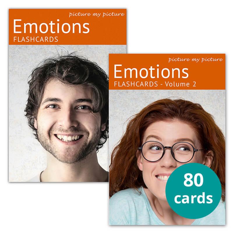 emotions flashcards bundle