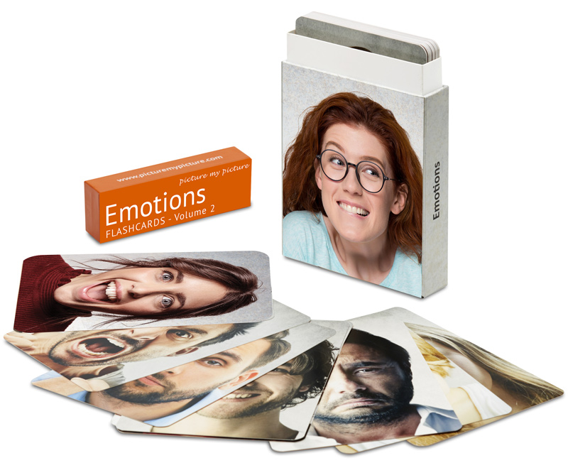 emotions flashcards volume 2