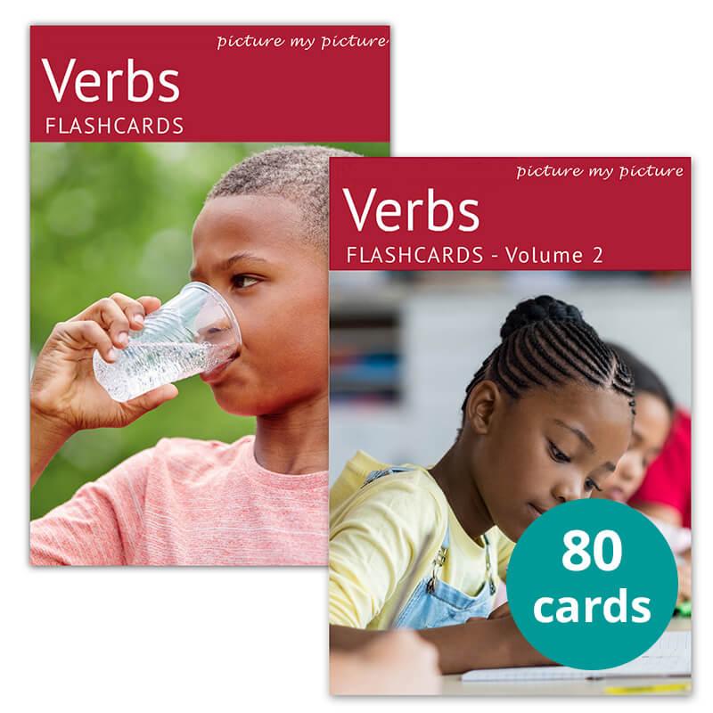 verbs flashcard bundle