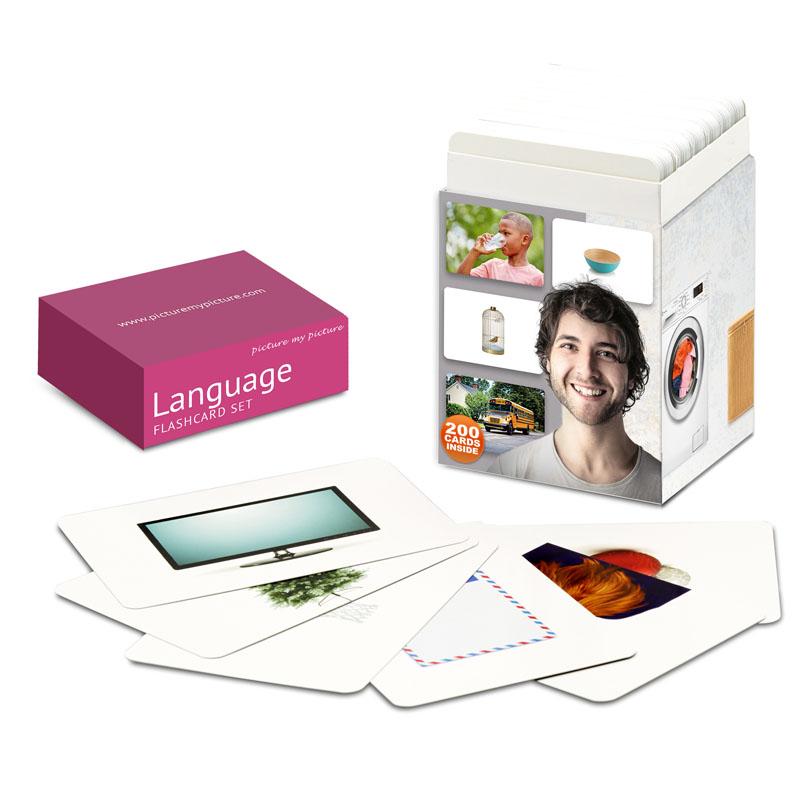 language flashcards
